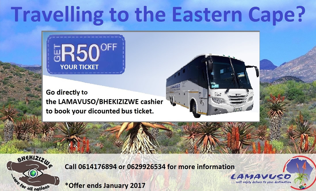 Travelling to Eastern Cape
